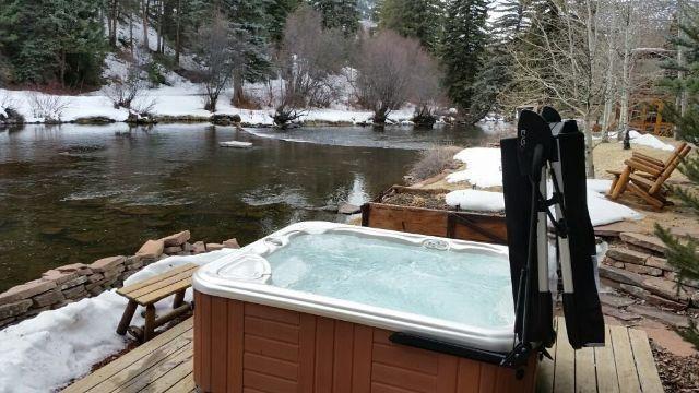 50 best hot spring spas images on pinterest hot springs. Black Bedroom Furniture Sets. Home Design Ideas