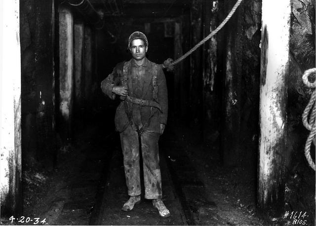 El Teniente Mine, Chile. 1934