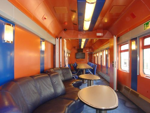 conference on the go...conference room/train carriage, Poland