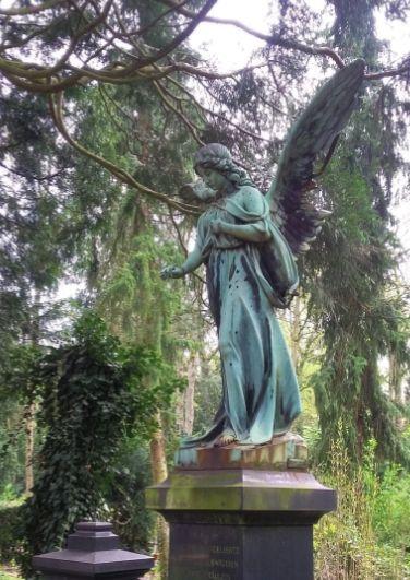 Engel, Melaten, Foto: S. Hopp
