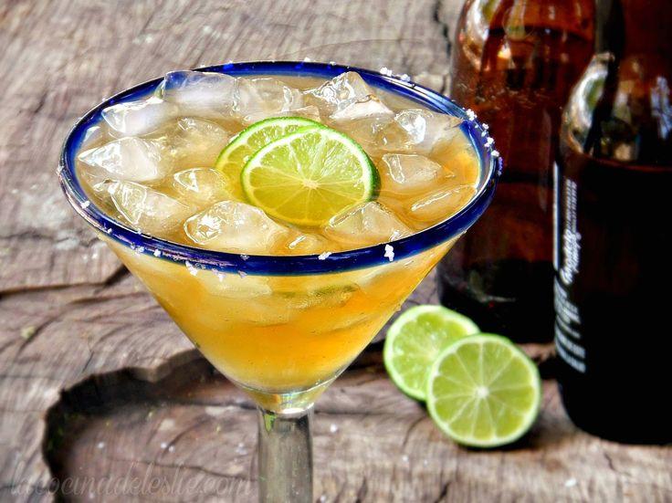 Cóctel de cerveza con tequila - lacocinadeleslie.com
