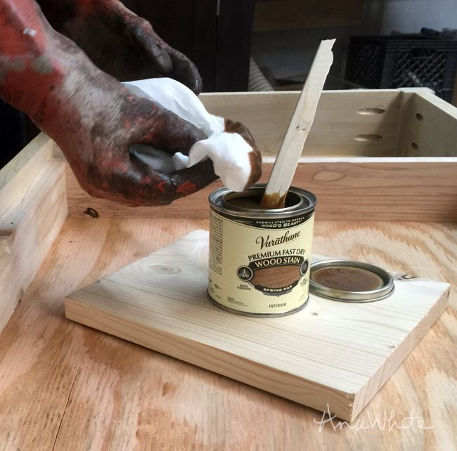tips and tricks for staining the easy way to get professional looking results on unfinished wood and pine