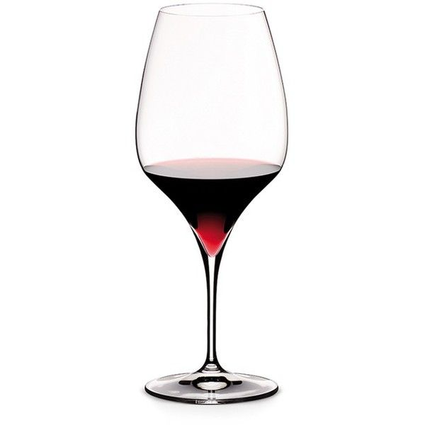 Riedel Vitis wine glass - Shiraz/Syrah ($60) ❤ liked on Polyvore featuring home, kitchen & dining, drinkware, wine glasses, riedel, colored wine glass, colored wine glasses and riedel wine glass