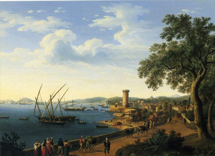 Vista del Puerto de Gaeta