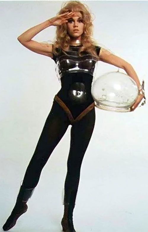 barbarella other ladies in space retro futuristic science fiction