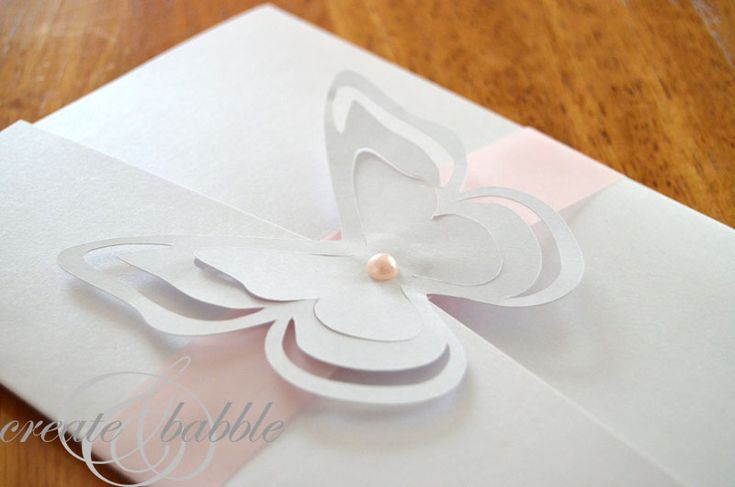 wedding invitation http://createandbabble.com/diy-wedding-invitations-silhouette-tutorial/
