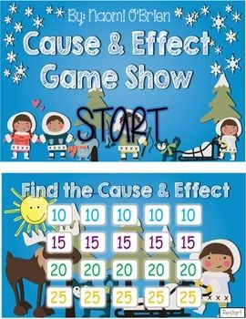 Cause and Effect Game!