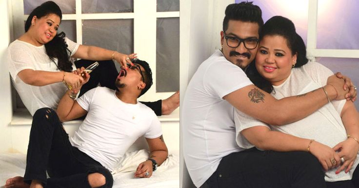 Comedy Queen Bharti Singh And Harsh Limbachiyaas Pre Wedding Photoshoot Was Casual Yet So Adorable https://goo.gl/eBNXn9