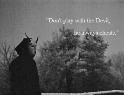 dark #quotes Tainted Love Pinterest Love games, Devil and The ...