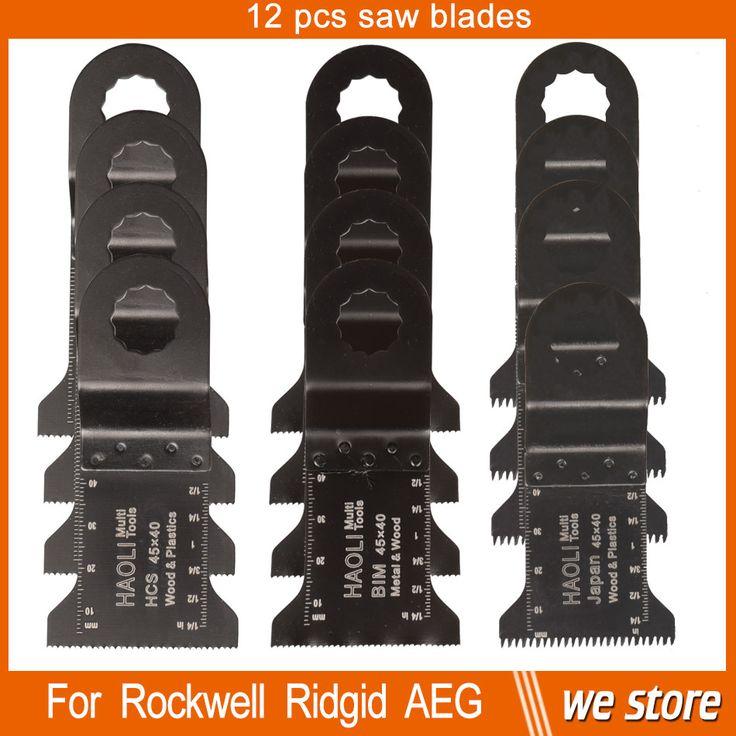 $23.99 (Buy here: https://alitems.com/g/1e8d114494ebda23ff8b16525dc3e8/?i=5&ulp=https%3A%2F%2Fwww.aliexpress.com%2Fitem%2F12-pcs-45mm-Mix-Oscillating-multi-tool-Saw-Blade-Accessories-for-Ridgid-AEG-Worx-Multi-master%2F32514849479.html ) 12 pcs 45mm Mix Oscillating multi tool Saw Blade Accessories for Ridgid AEG Worx Multi master power tool ,wood metal cutting for just $23.99