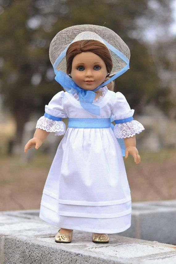Cool White Cotton Sundress Perfect for Spring for 18 Inch Dolls