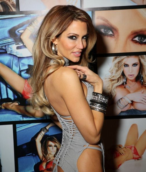 Adult film actress Jessica Drake attends the 2014 AVN Adult Entertainment Expo at the Hard Rock Hotel Casino on January 17 2014 in Las Vegas Nevada > http://www.usmagazine.com/celebrity-news/news/jessica-drake-accuses-donald-trump-of-sexual-misconduct-w446294
