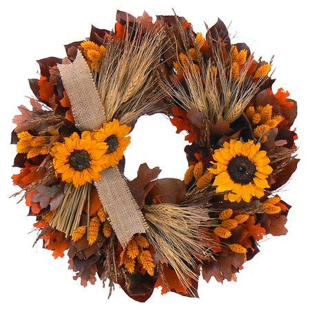 "18"" Autumn Inspiration Wreath"