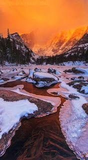 """Rocky Mountain National Park, #Colorado. Ideal place to try a """"Rocky Mountain oyster."""""""