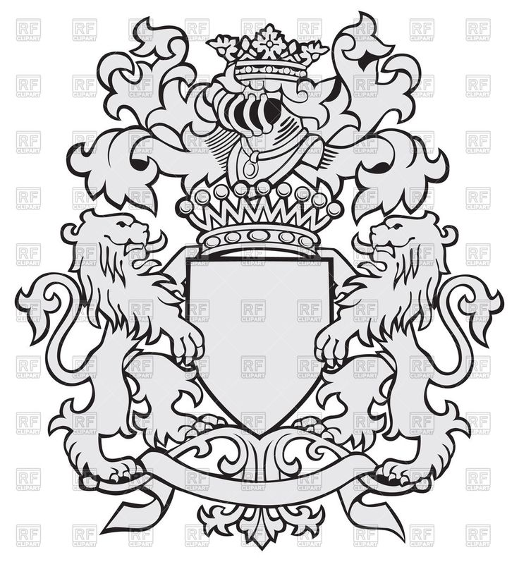 German Coat Of Arms Coloring Page Coloring Page