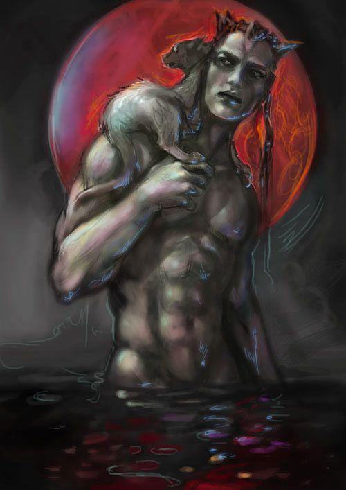 'Bloodmoon' 2014 copyright Sirkku Tuomela