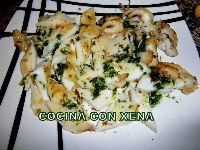 Cocina con xena sepia en salsa verde en olla gm f paso for Cocina con xena olla gm d
