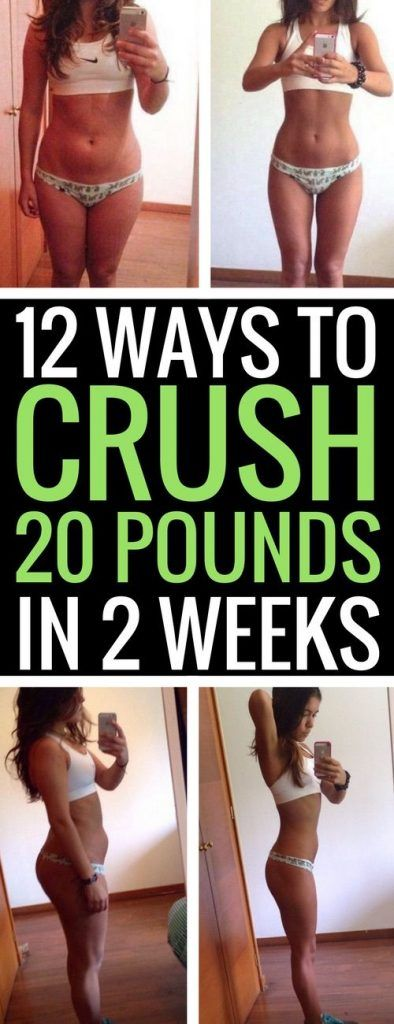 How to Lose 20 Pounds in 2 Weeks – 12 Fast Ways to Weight Loss