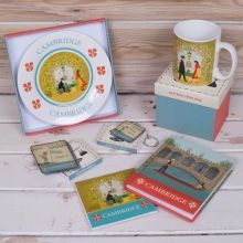 Cambridge souvenirs - available from many gift shops around Cambridge