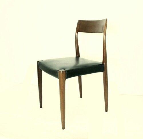 Olaio's wooden chair, model design by José Espinho. 1960