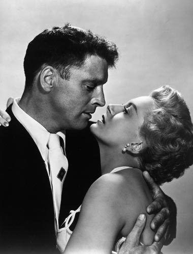 "Deborah Kerr and Burt Lancaster in ""From Here To Eternity"", 1953"