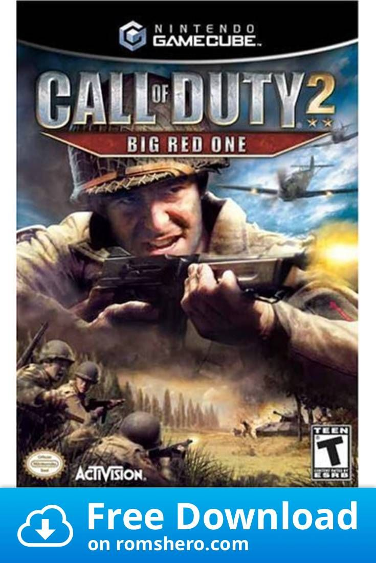 Download Call Of Duty 2 Big Red One Gamecube Rom In 2020 Call
