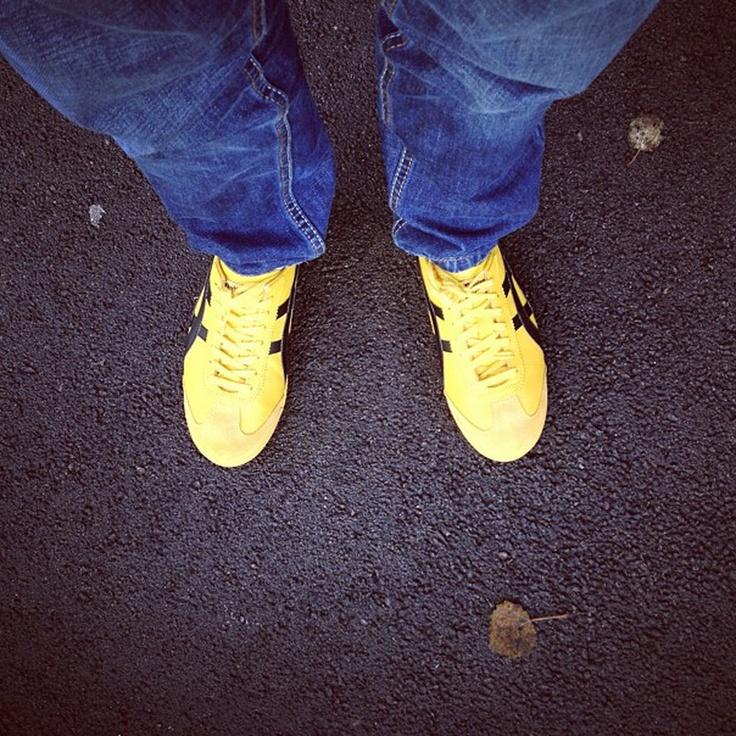 #shoesinsitu Yellow Tigers