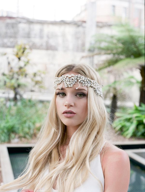 Lush Tropics Bridal Shoot // Photo by @stellarhours Headpiece by @bridelaboheme #weddings #headpieces