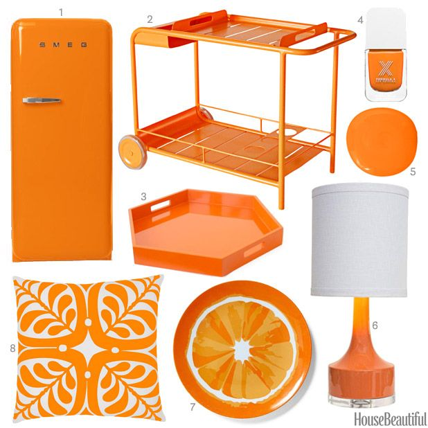 Color Of The Week: Bright Orange
