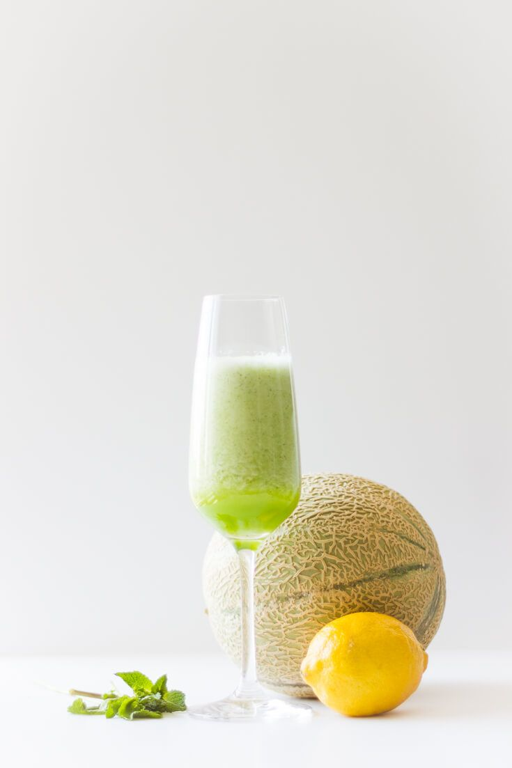 Galia Melon - Cucumber - Mint - smoothie | www.haveanotherbite.com | #refreshing #melon #healthy