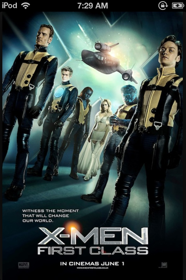 X-men is also a very good movie. It's about marvels superheroes. It's also a good movie because Jenny is in it.