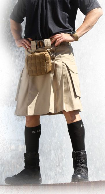 Tactical Kilt.  Makes a statement!