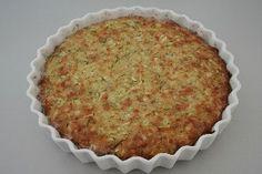 Australsk squashtærte med billede fra Alletiders Kogebog