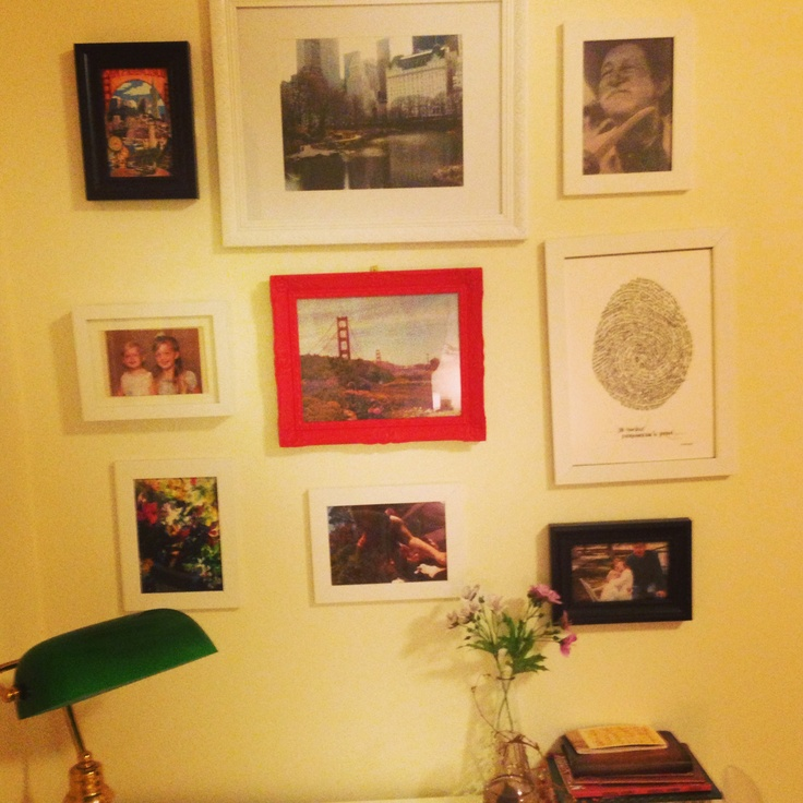 Wall Decor With Photos Pinterest : My picture wall decor ideas