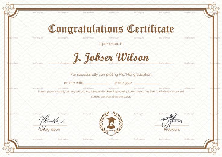 Sports Achievement Award Certificate Design Template Achievement - award certificate