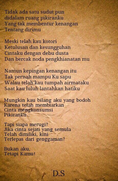 Puisi - Puisi Cinta - Puisi Singkat - #Indonesia