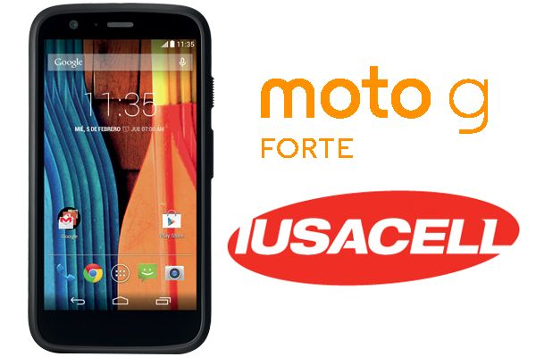 Moto G Forte ahora también está disponible con Iusacell.