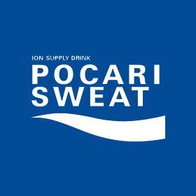 ポカリスエットのロゴ:水のうるおい   ロゴストック