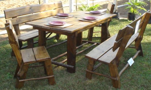 Garden Set Available with 2, 4, 6 & 8 Chairs