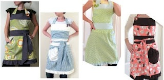 Modest Maven: Fully Lined Ruffle Apron Tutorial