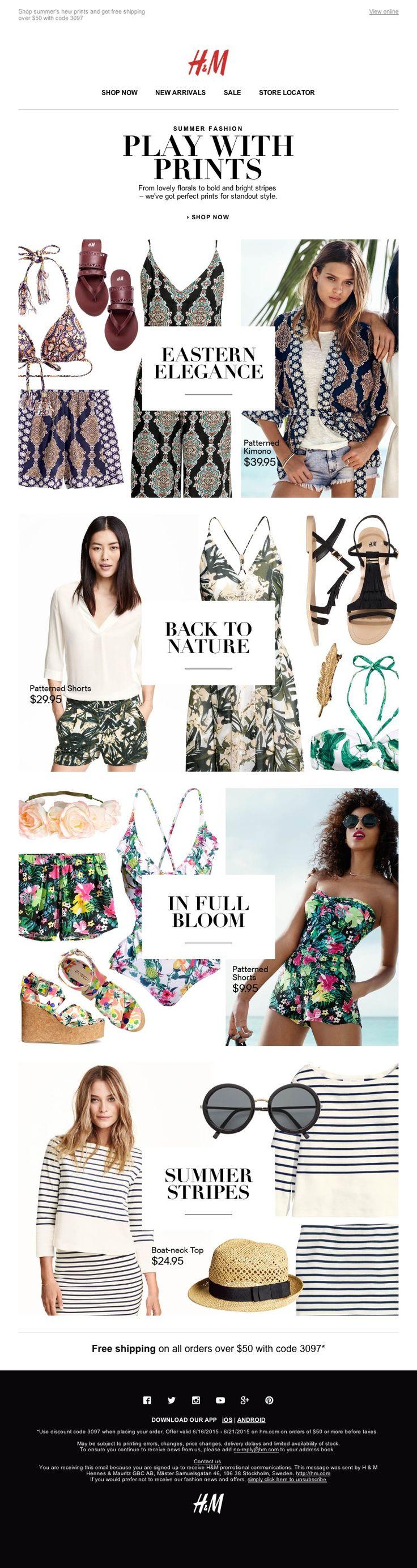 print email - H&M