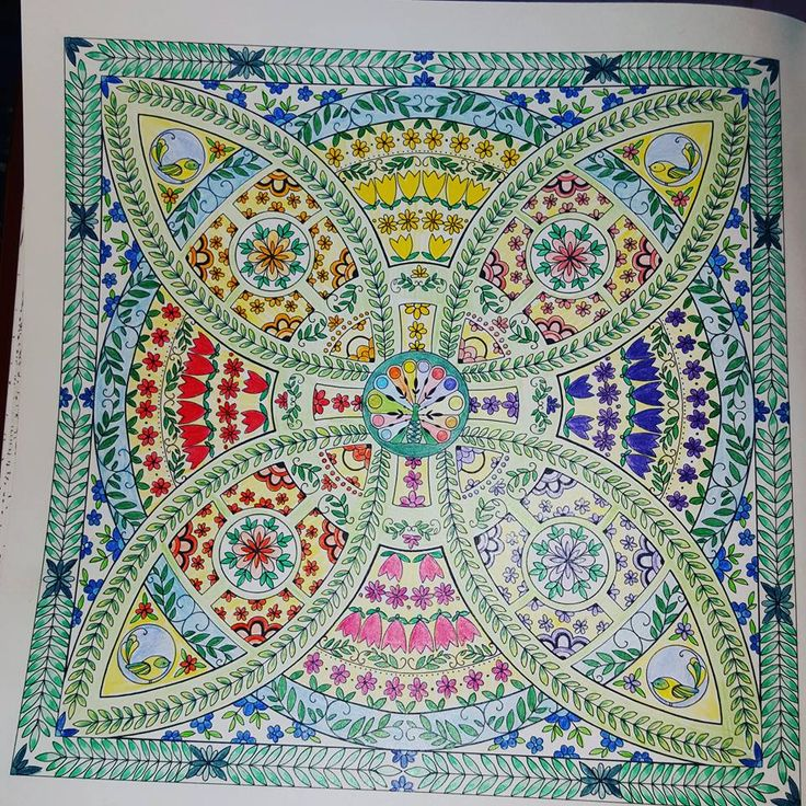 From Joyous Blooms To Color By Eleri Fowler Colored With