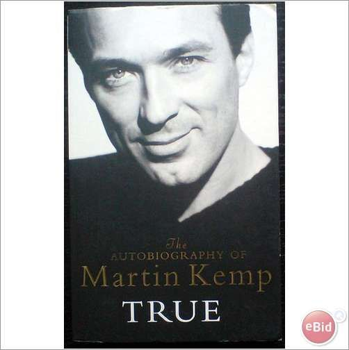 Martin Kemp. True The Autobiography BOOK Spandau Ballet
