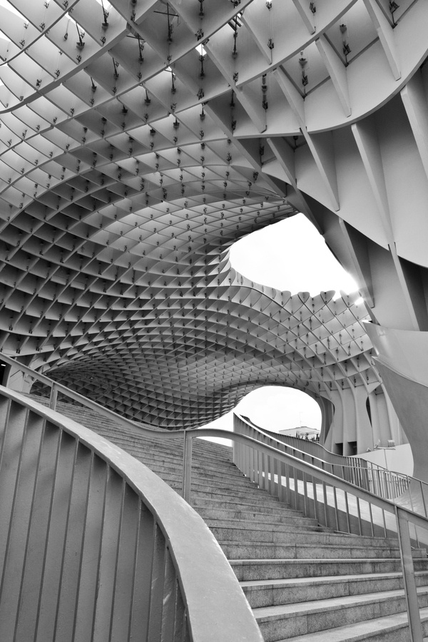 """Metropol Parasol"", Seville, Spain, 2012. www.artestudio72.com"