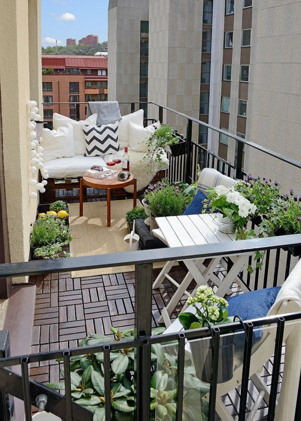 17 meilleures id es propos de d coration balcon d for Decoration balcon d appartement