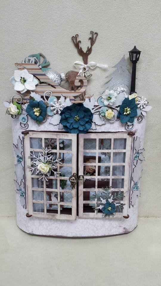 Christmas Window Kit designed by Alysha Johnson. Copyright Imagine If 2016
