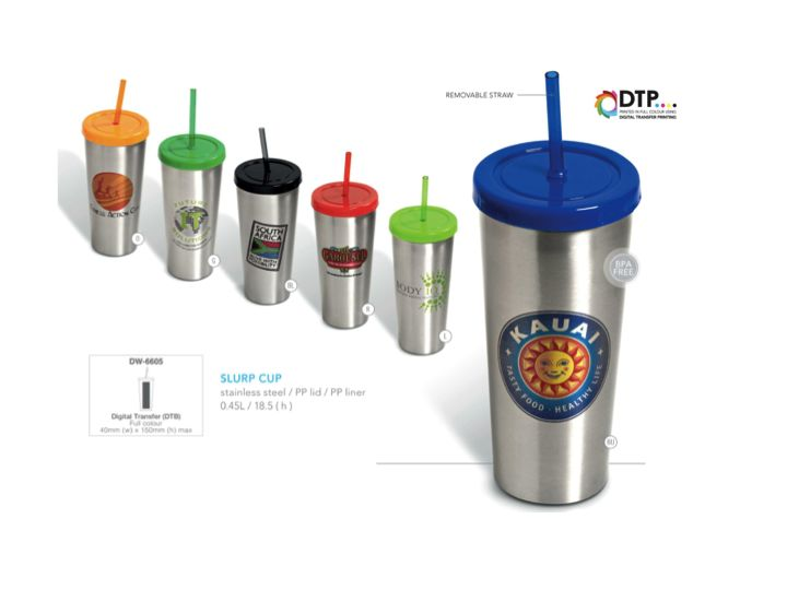 Slurp Cup .45l, Stainless Steel  Order NOW http://www.glowmore.info/?p=229