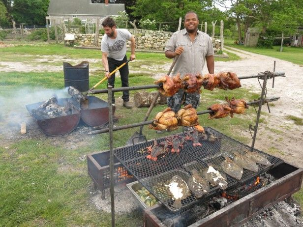 Man Fire Food: Fun with Open Fire Cooking : Pictures : Cooking Channel