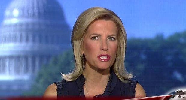 Laura Ingraham believes there's someone in the intelligence community who's out to get the President.