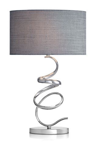 Buy Ribbon Chrome Touch Lamp from the Next UK online shop